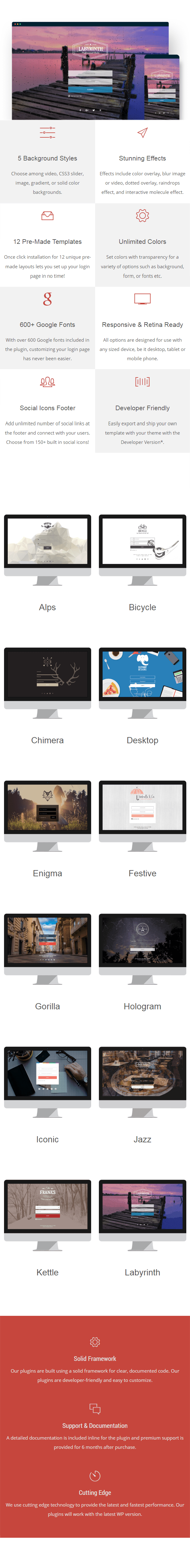 Loginstyle - WordPress Login Page Styler - 1